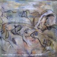 Hulemaleri fra Chauvet Cave i Frankrig