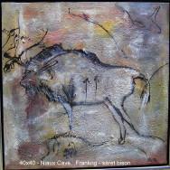 Hulemalerier – Såret bison