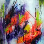 Abstraktion over farver