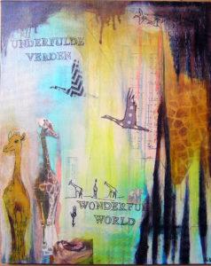 55x45 - Underfulde verden II