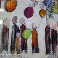Leg med balloner