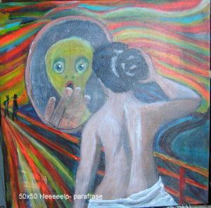 Parafrase Eckersberg - Munch
