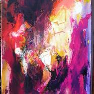 Lyspunkt – abstraktion