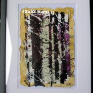 Træer II – Serigrafi